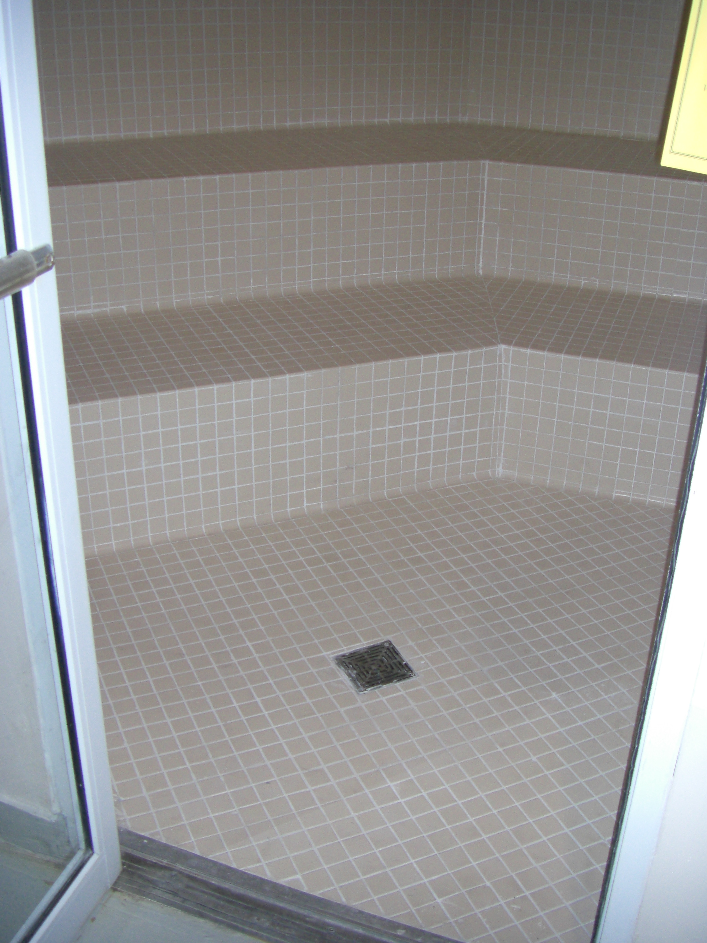 Anti slip coating application on ceramic tiles in spa steam room dailygadgetfo Images