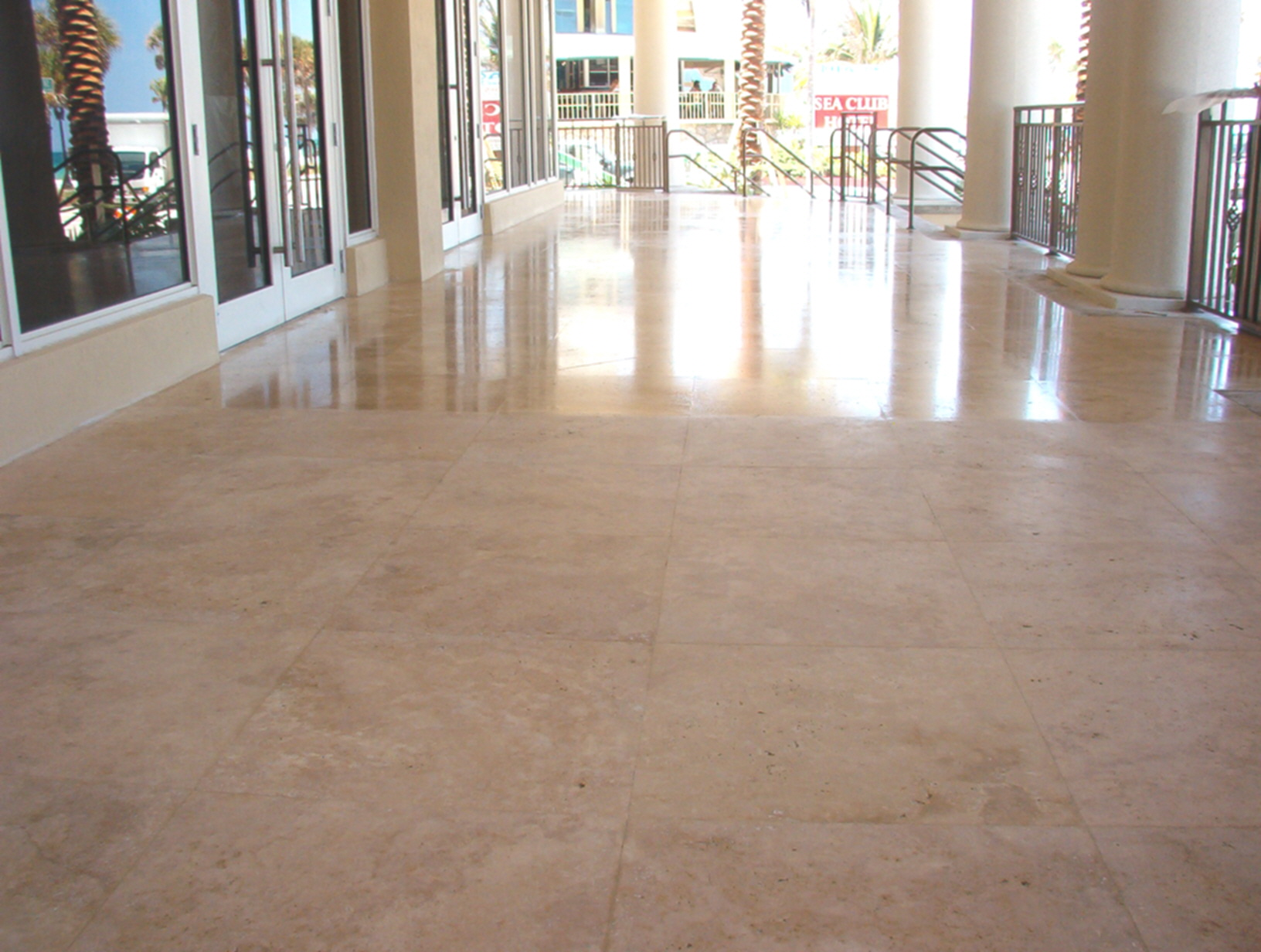 Sealing Saturnia Marble Flooring For