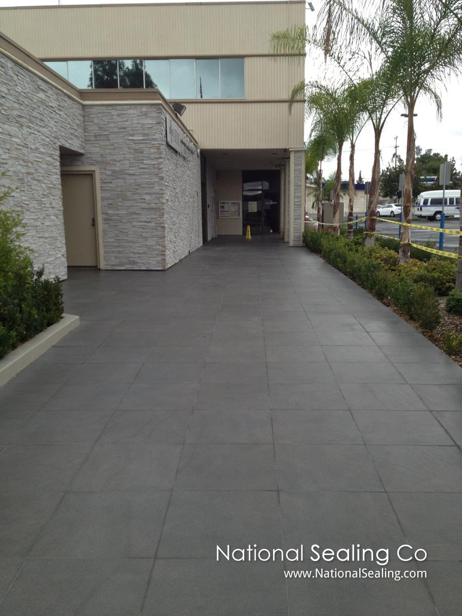 Anti Slip Coating Application On Porcelain Tile Los Angeles - Anti slip coating for porcelain tiles