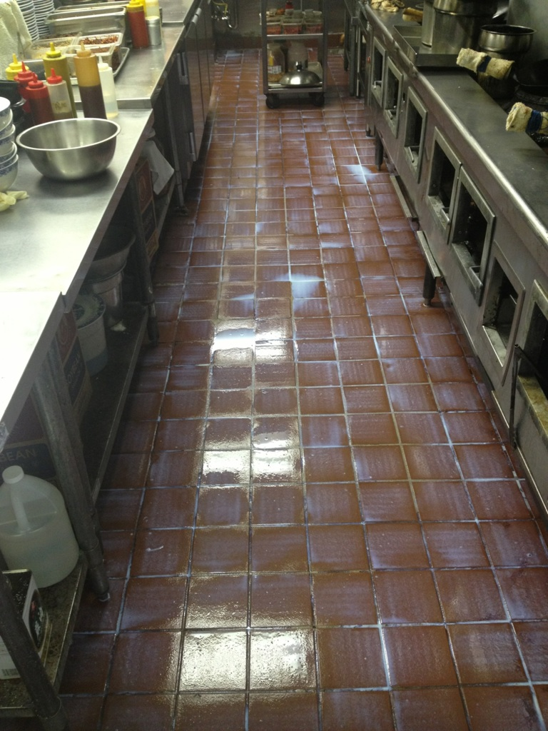 Sealing Grout For Commercial Quarry Tile Kitchen