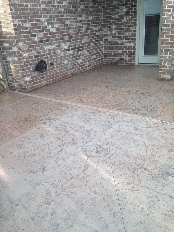 Anti Slip Application Stamped Concrete