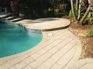 New Dyeing Process for Faded Pavers by National Sealing