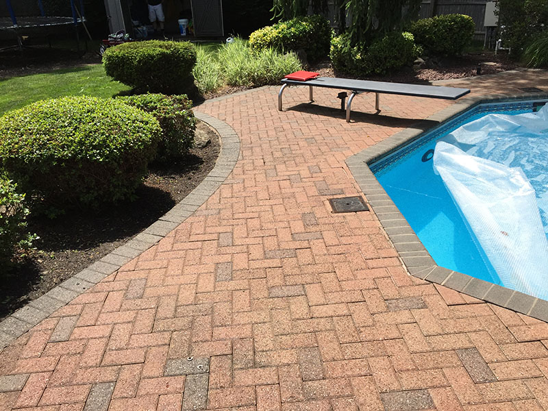 Dyeing Pavers in New York