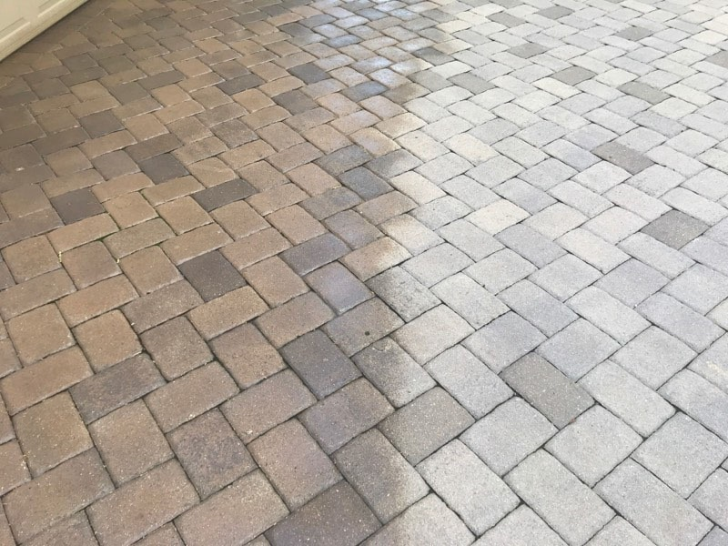 Tinting Pavers with new Dyeing Process