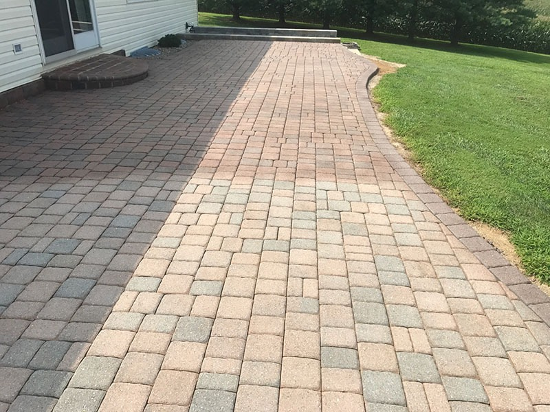 Restoring Faded Pavers in Maryland