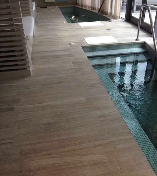 Anti Slip Application for Granite or Blue Stone