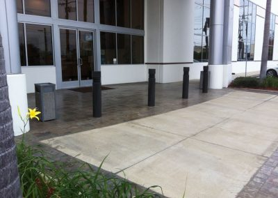 Non-Slip Coating for Entrance Way