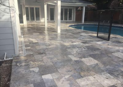 Anti Slip Coating for Pool Pavers