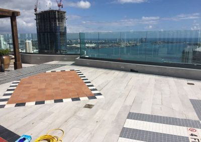Anti Slip Coating for Roof Top Terrace