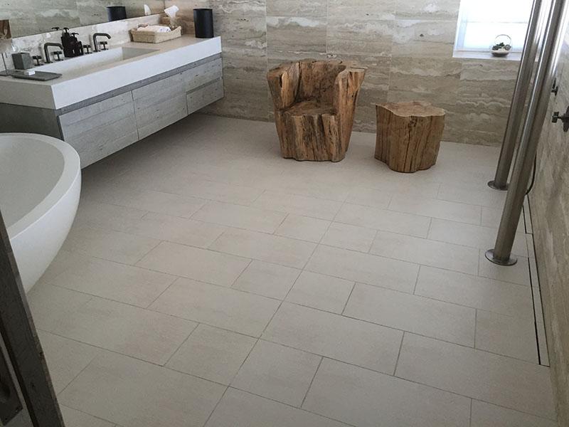 Porcelain Tile Non Slip Application