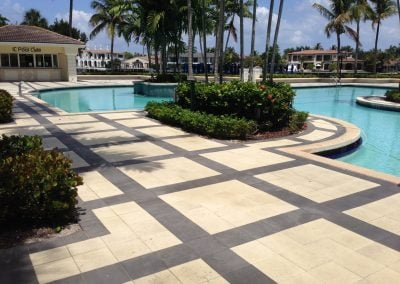 coating black pavers reducing heat transmission