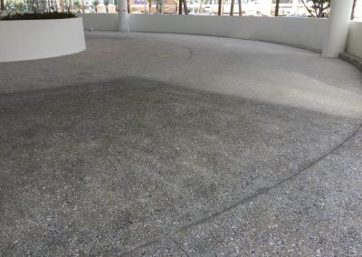 coating exposed aggregate