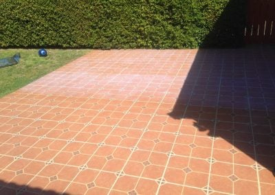coating exterior tile