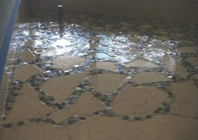 sealing mosaic tile
