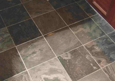 sealing tile & grout