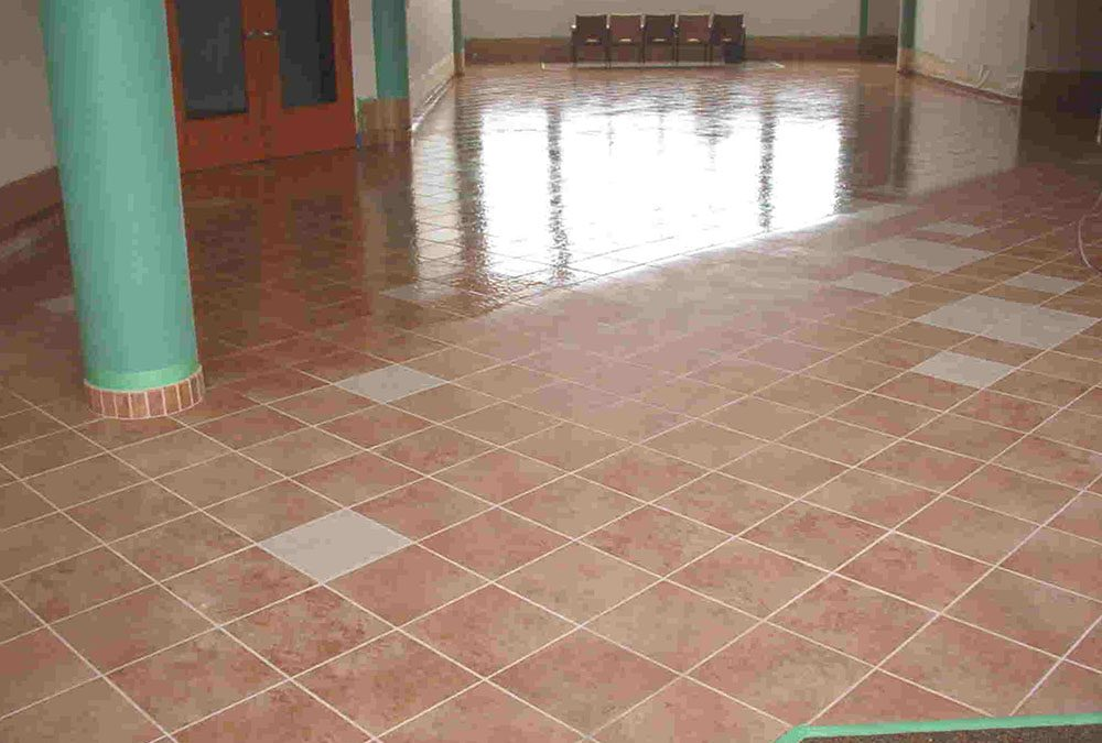 Sealing Ceramic Tile & Grout Lines