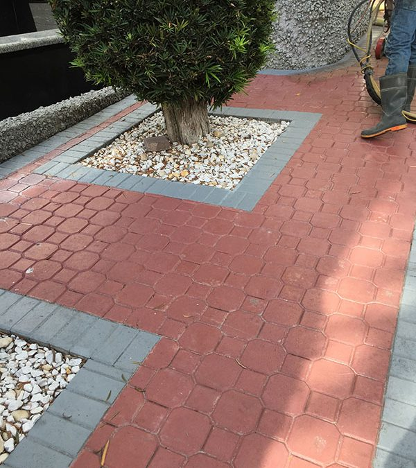 How to Remove Sealer & Paint from Brick Pavers