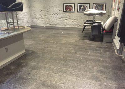 sealing granite hotel lobby