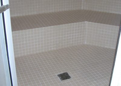 sealing tile & grout spa