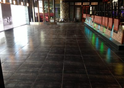 sealing tiles restaurant