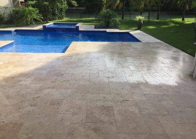 sealing travertine comparison