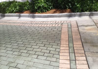 stripping pavers before 2