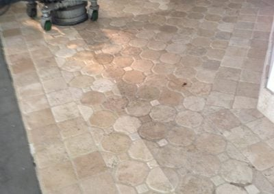 stripping sealer from travertine