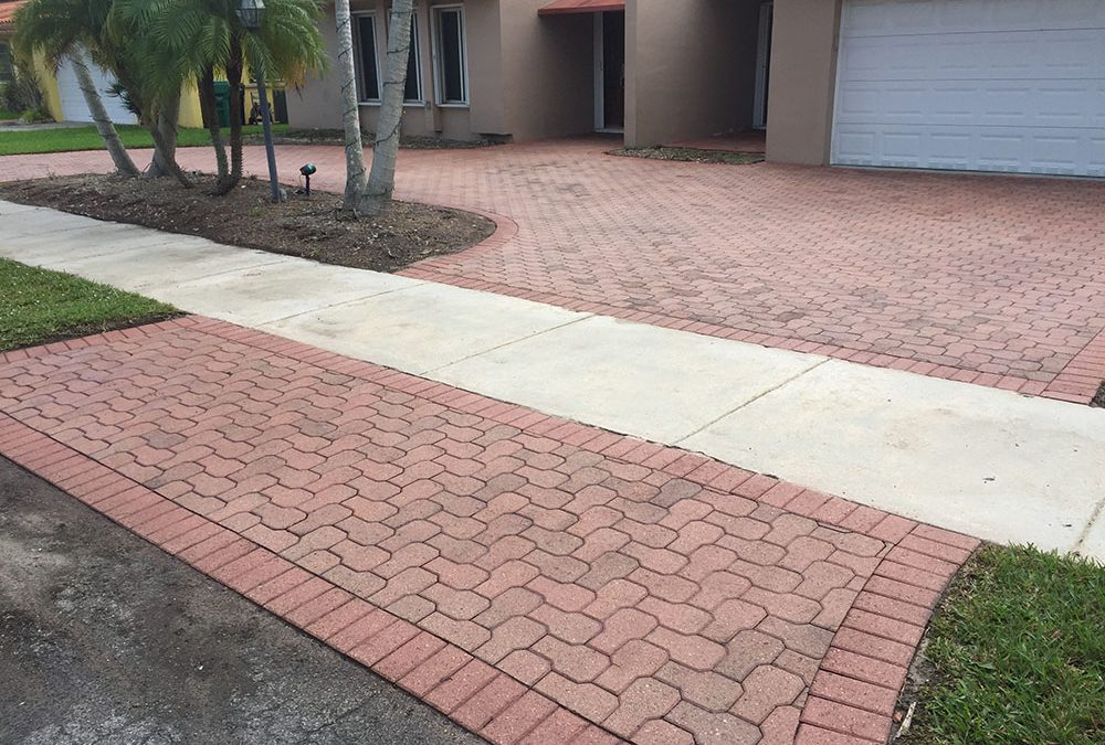Cement Pavers Must be Sealed to Prevent Fading