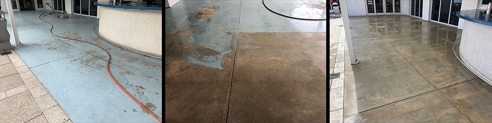 Removing Sealer from Brick pavers, Stripping Paint from Cement