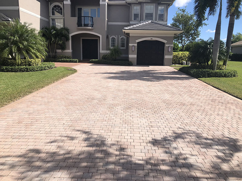 Can my pavers be stained? - National Sealing Co.