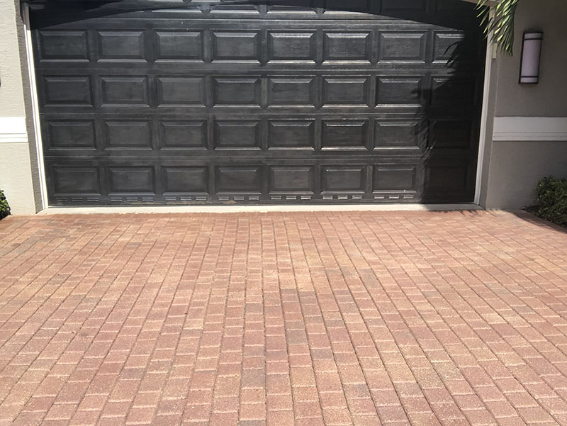 Cleaning and sealing pavers?  Now there is an option of re-dyeing