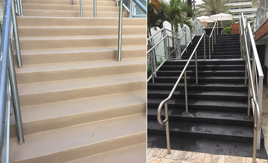 Anti Slip Floor Treatment for Stairs