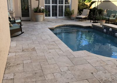 Non Slip Travertine, Naples, FL