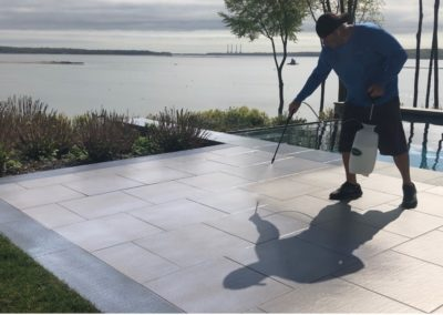 Non Slip Travertine, Oyster Bay, NY