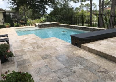 Non-Slip Travertine, Windermere, FL