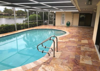 Anti Slip Travertine - Pembroke Pines, FL