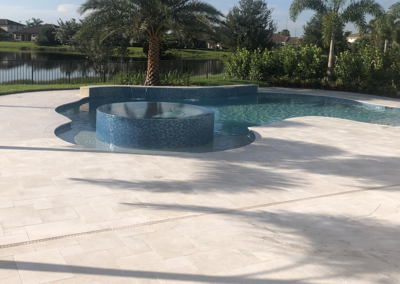 Non Slip Travertine, Jupiter, FL