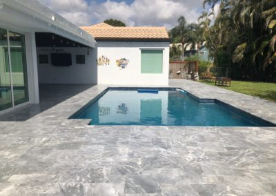 Non Slip Travertine - Boca Raton FL