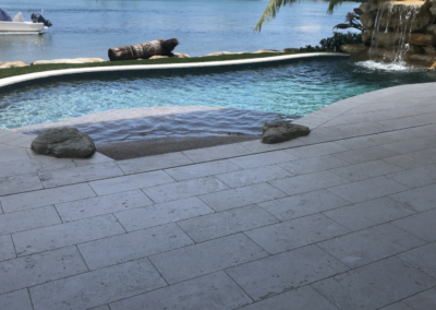 Non-Slip Travertine, Jupiter, FL