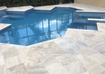 Non-Slip Travertine, Bradenton,FL