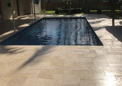 Non-Slip Travertine, Cutler Bay, FL