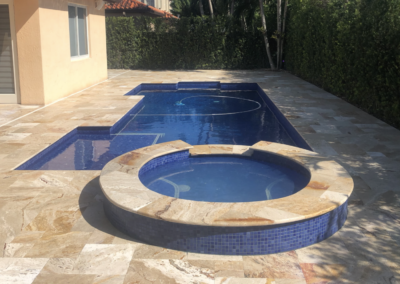 Non-Slip Travertine, Kendall, FL