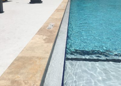 Non Slip Travertine Apartments, Miami Beach, FL
