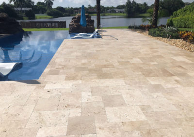 Non Slip Travertine, Boca Raton, FL